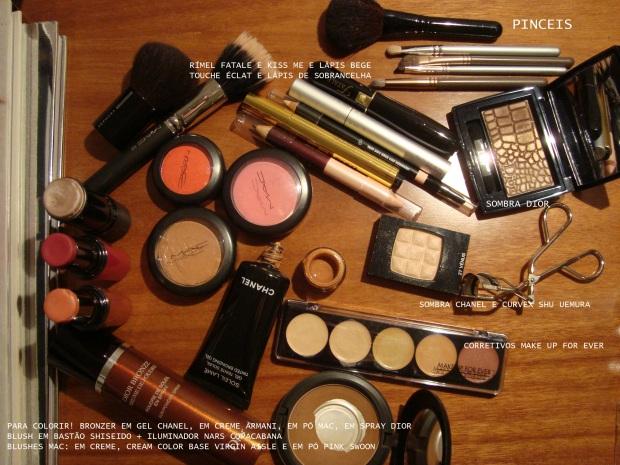 Resultado de imagem para paletas de maquiagem para necessaire