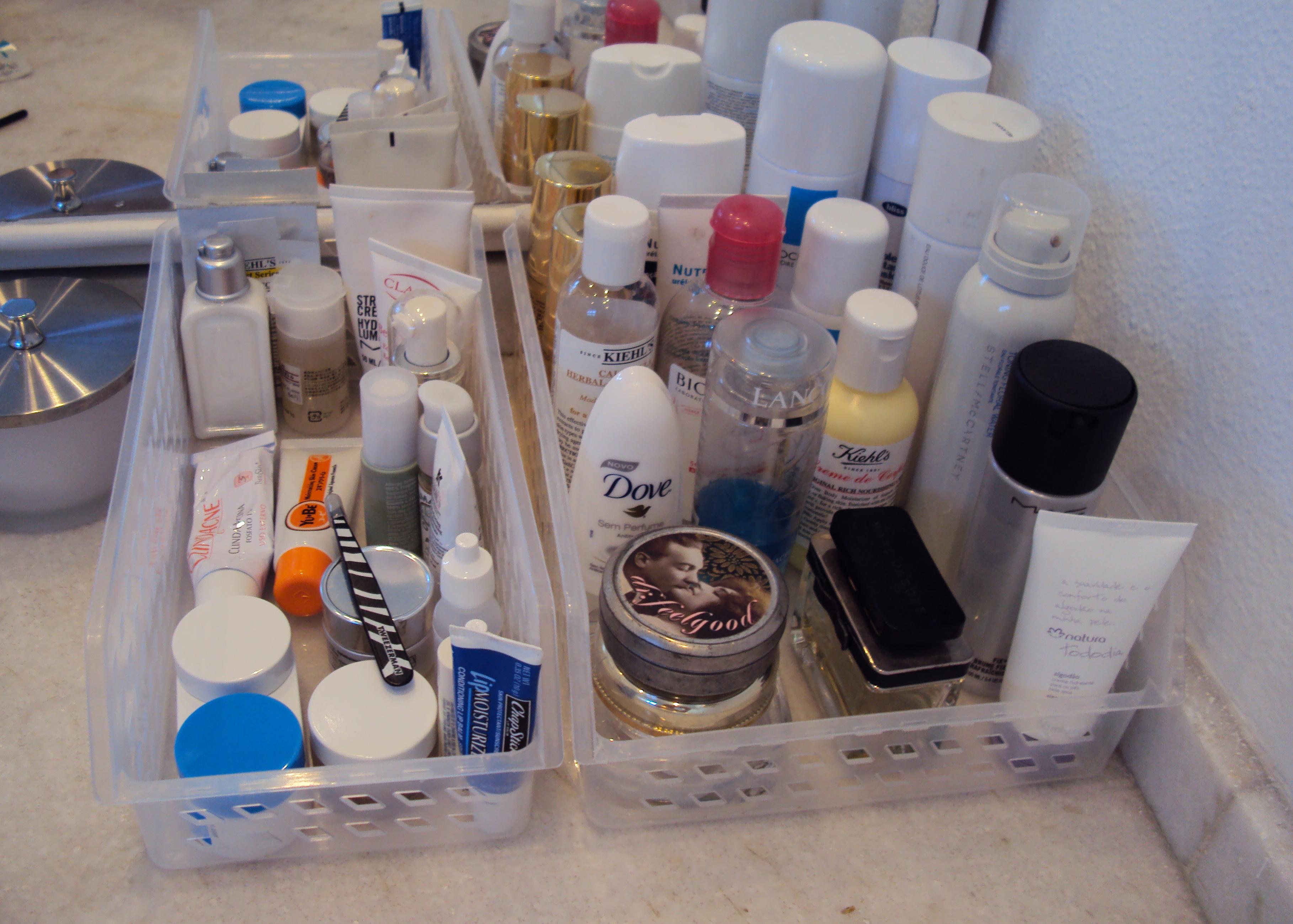 Organizando produtinhos Dia de Beauté #374568 3636x2598 Acessorios Banheiro Tok Stok